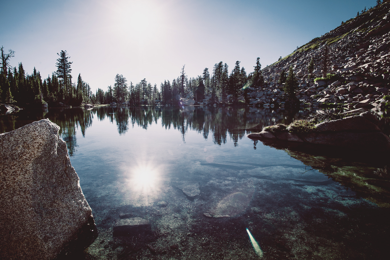 Hemlock Lake, Desolation Wilderness, CA