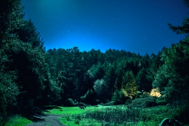 Glen Camp by night