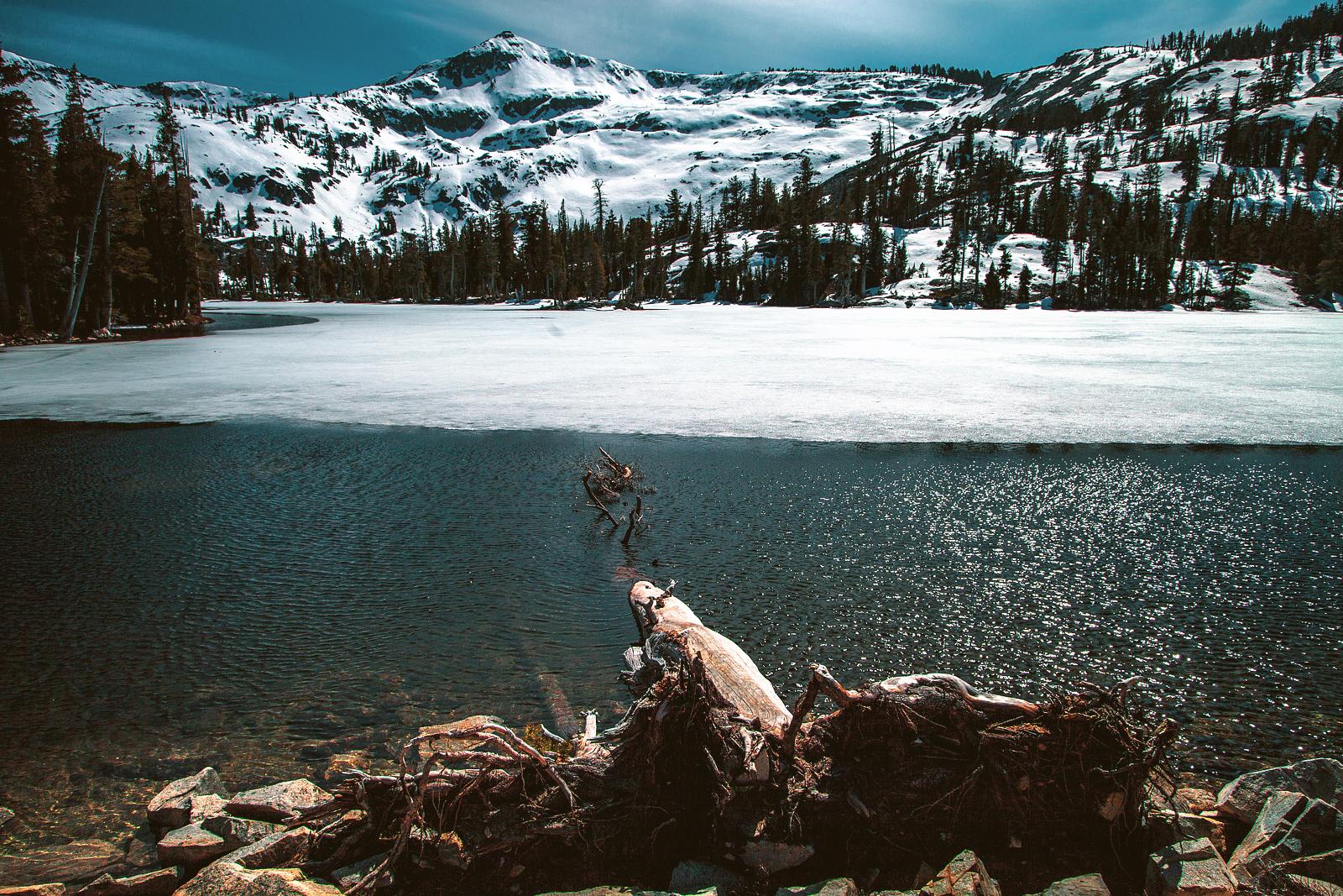 echo lake, tamarack lake