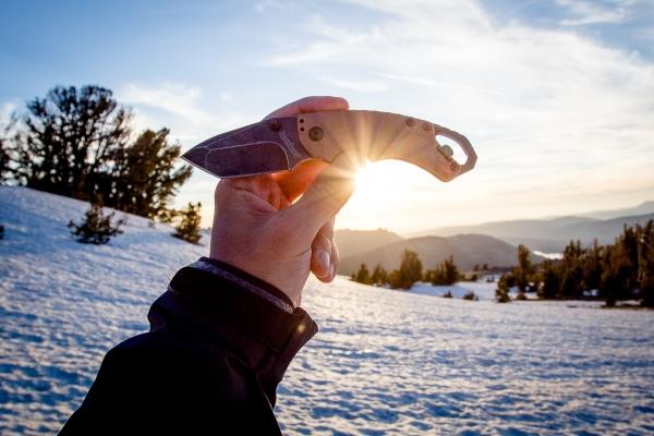 kershaw knife, shuffle ii