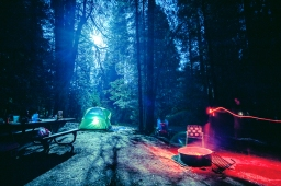 Nightshots and camping at PiPi Valley, CA