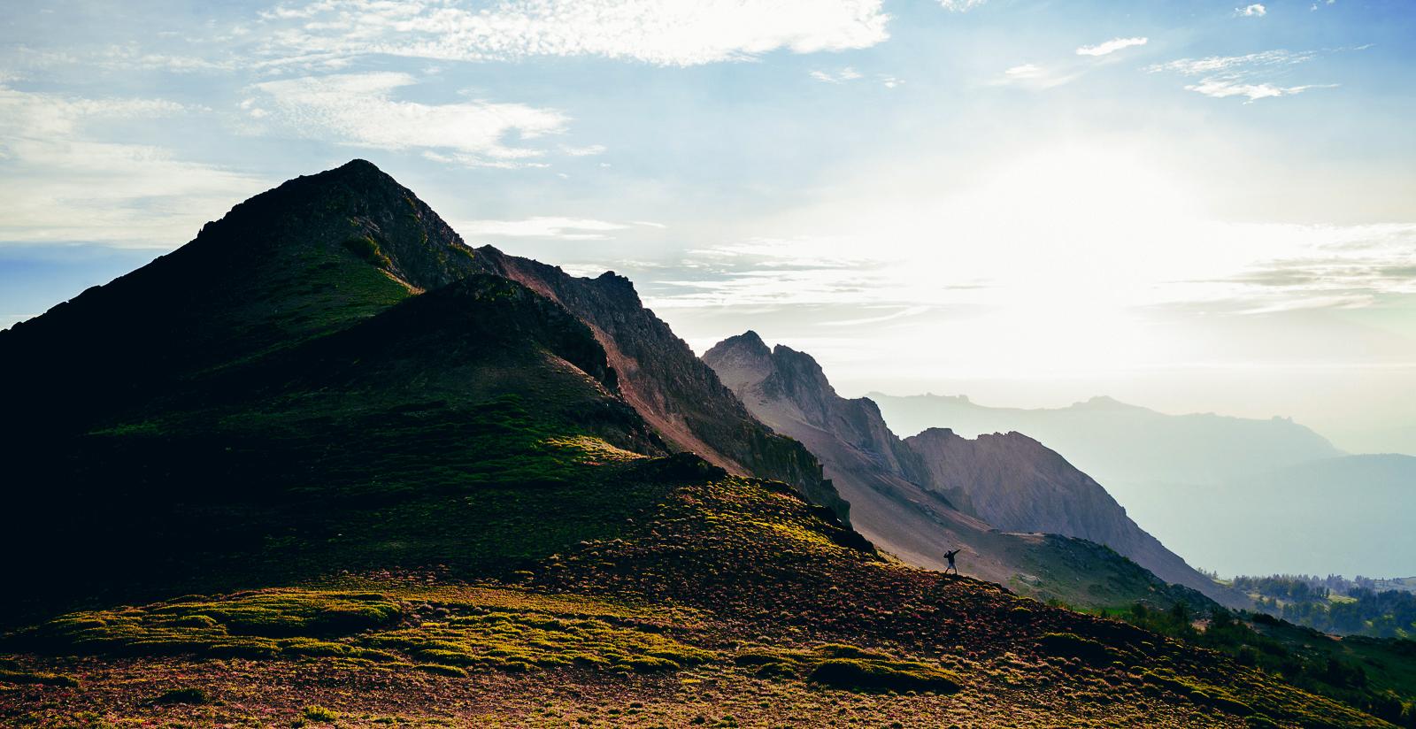 round top, carson pass, sierra nevada, california