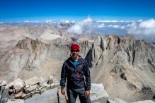 carlos eliason, mt. whitney summit, california
