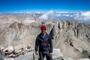 carlos eliason, mt. whitney summit, california