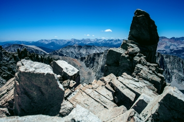near mt. whitney summit, california
