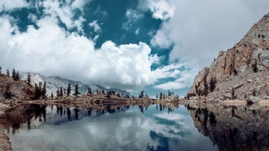 Lone Pine Lake Panorama