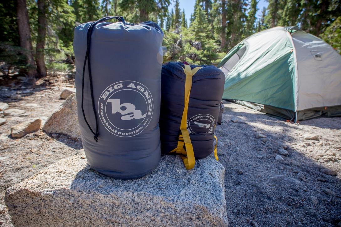 Mirror Lake and Bald Mountain Big Agnes Sleeping Bag Review