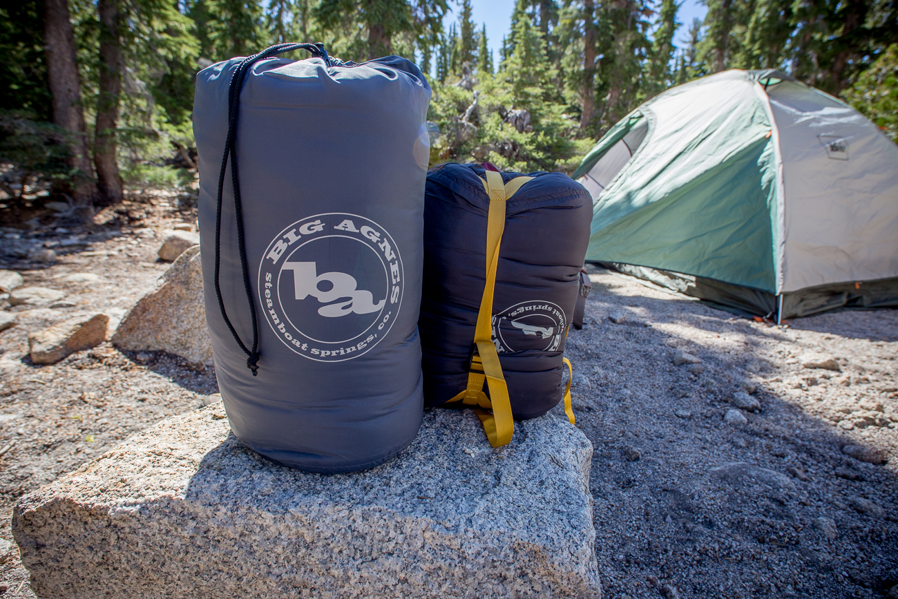 Mirror Lake and Bald Mountain Big Agnes Sleeping Bag Review