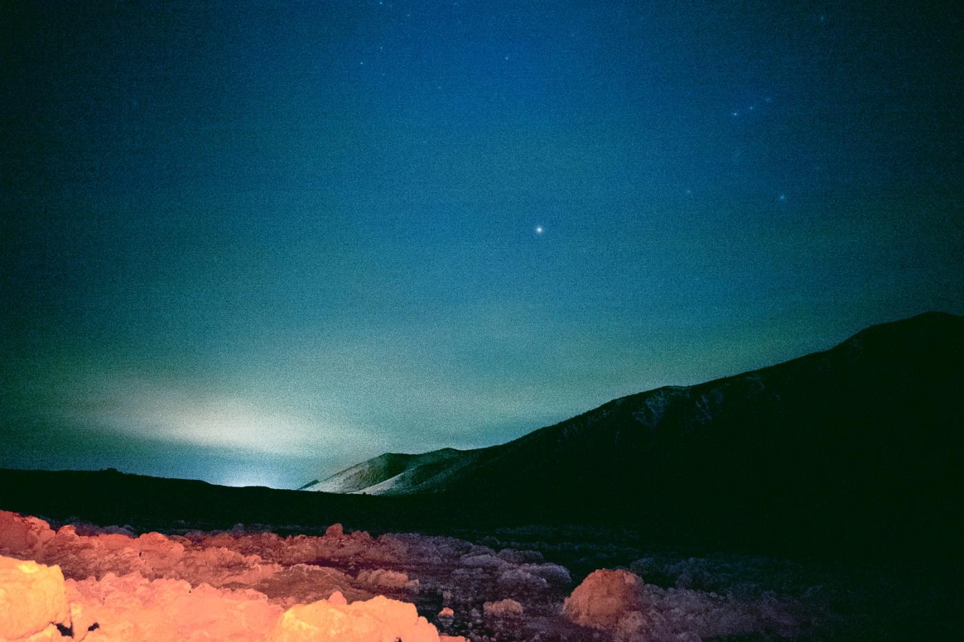 Dark night, Mono Lake, CA