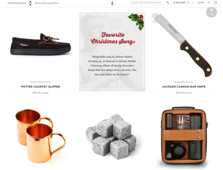 Huckberry - Holiday Shop