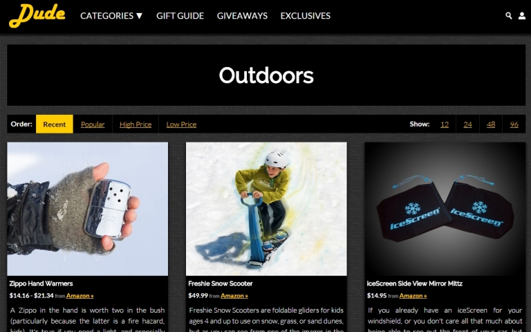 DudeIWantThat Outdoor Gifts