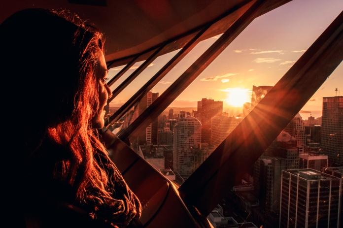 Vancouver sunset, British Columbia