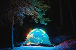 Camp, cozy camp