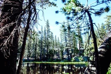 Boulder Lake, Carson-Iceberg Wilderness