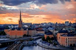 Riling the senses under a seaborne sky in Stockholm, Sweden