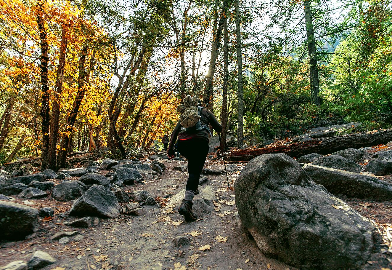 Yosemite, Mist Trail, Nevada Falls
