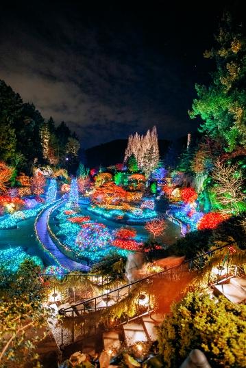Butchart Botanical Gardens, Victoria Canada, British Columbia