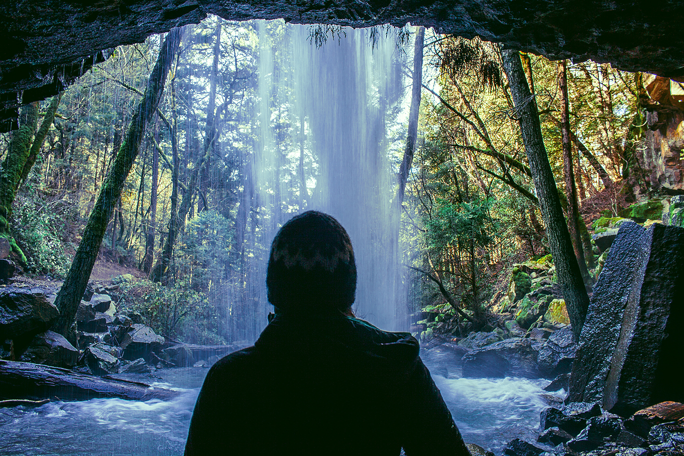 Hedge Creek Falls, Mount Shasta
